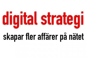 digital strategi för din e-handel
