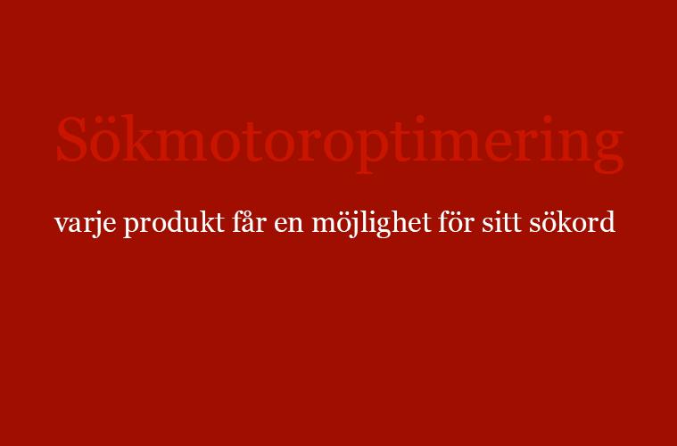 sökmotoroptimering för varje produkt