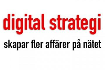 digital strategi för din e-handel