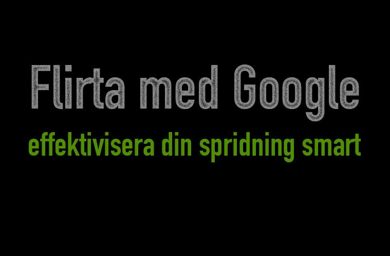 flirta med google