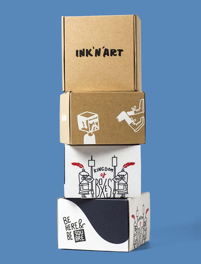 ehandelsförpackningar